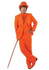BCT Bright Orange Mens Tuxedo