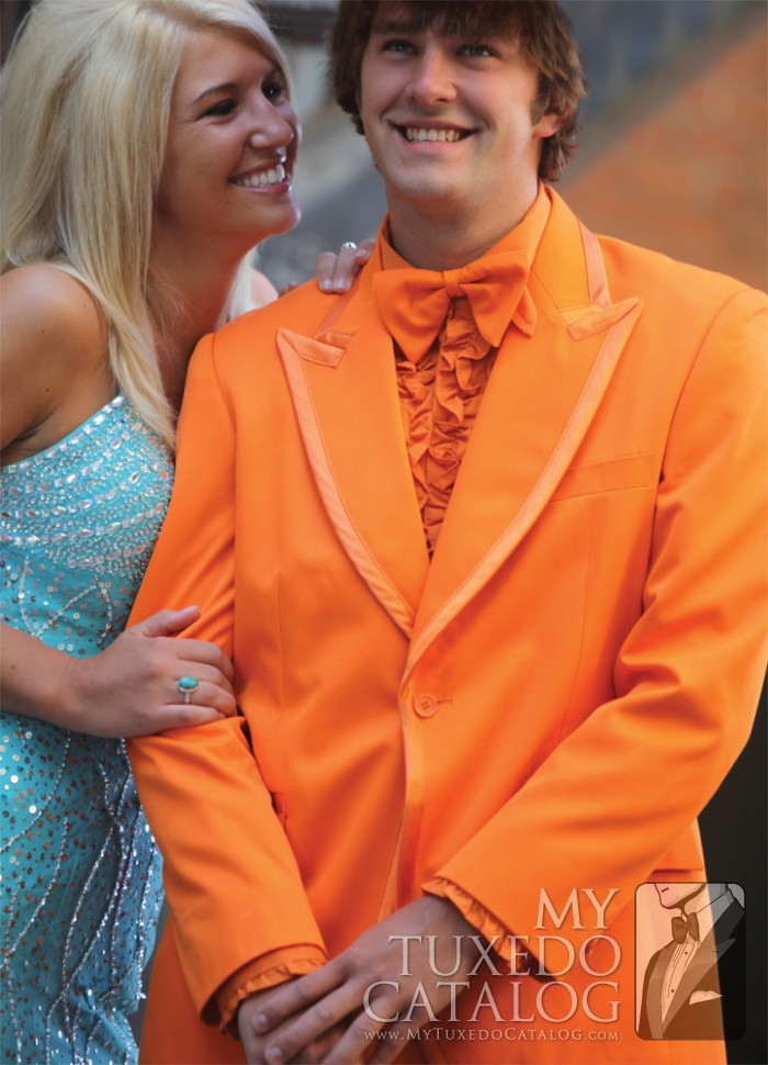 Orange Tuxedo Tuxedos Amp Suits Mytuxedocatalog Com