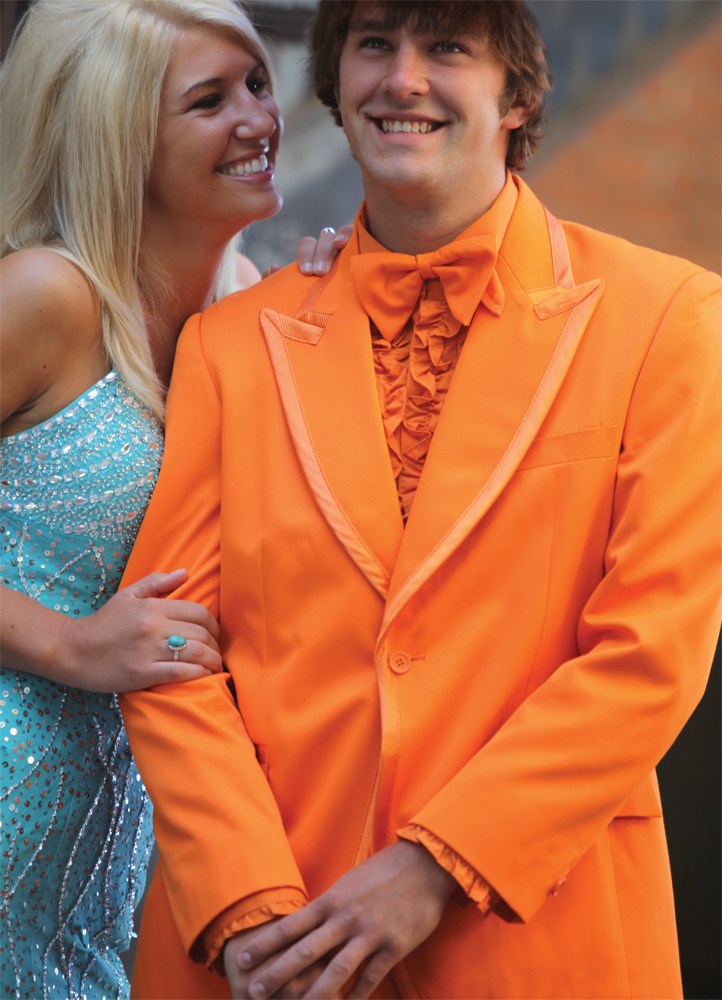 Orange Tuxedo by Bright Colored Tuxedos