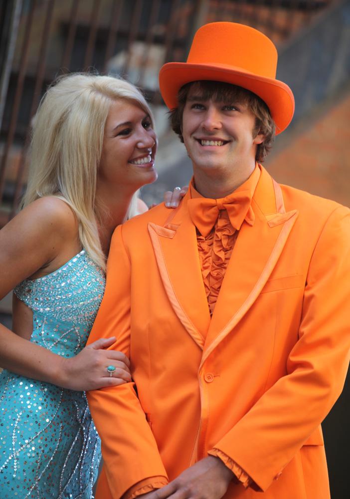 BCT Orange Tuxedo
