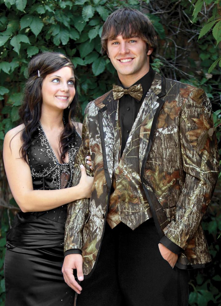Camouflage 'Alpine' Tuxedo