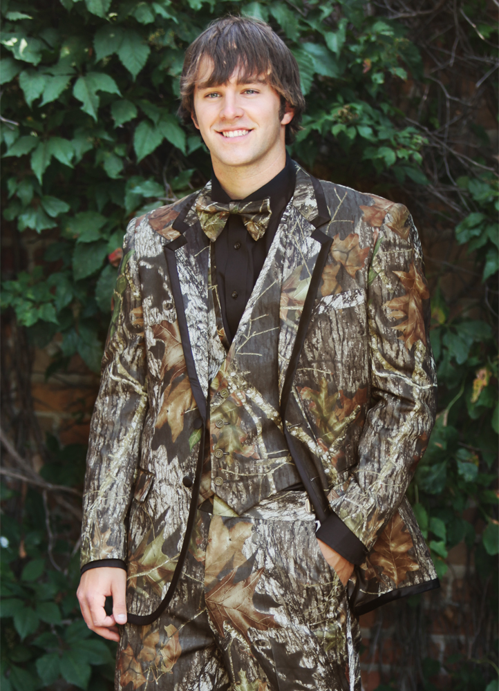 Camoflauge 'Alpne' Tuxedo by Bright Colored Tuxedos
