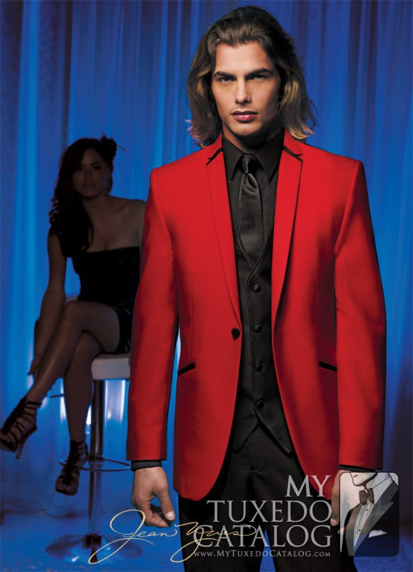 Red Illusion Tuxedo Tuxedos Amp Suits Mytuxedocatalog Com
