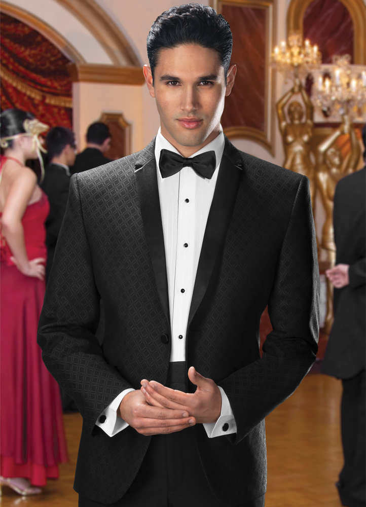 Black Diamond 'Illusion' Tuxedo by Jean Yves