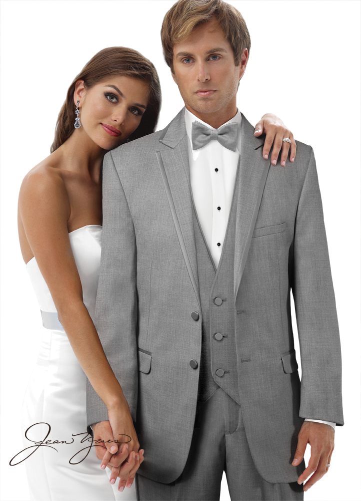 Heather Grey 'Savoy' Tuxedo by Jean Yves