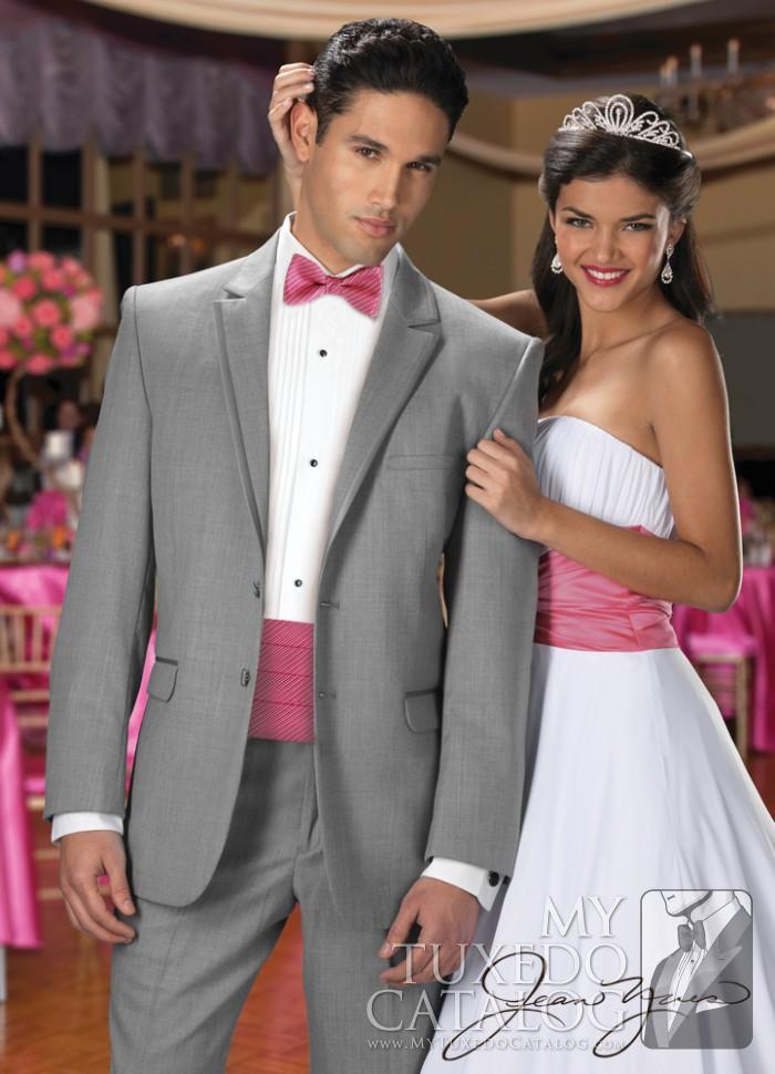 Heather Grey Savoy Tuxedo Tuxedos Amp Suits