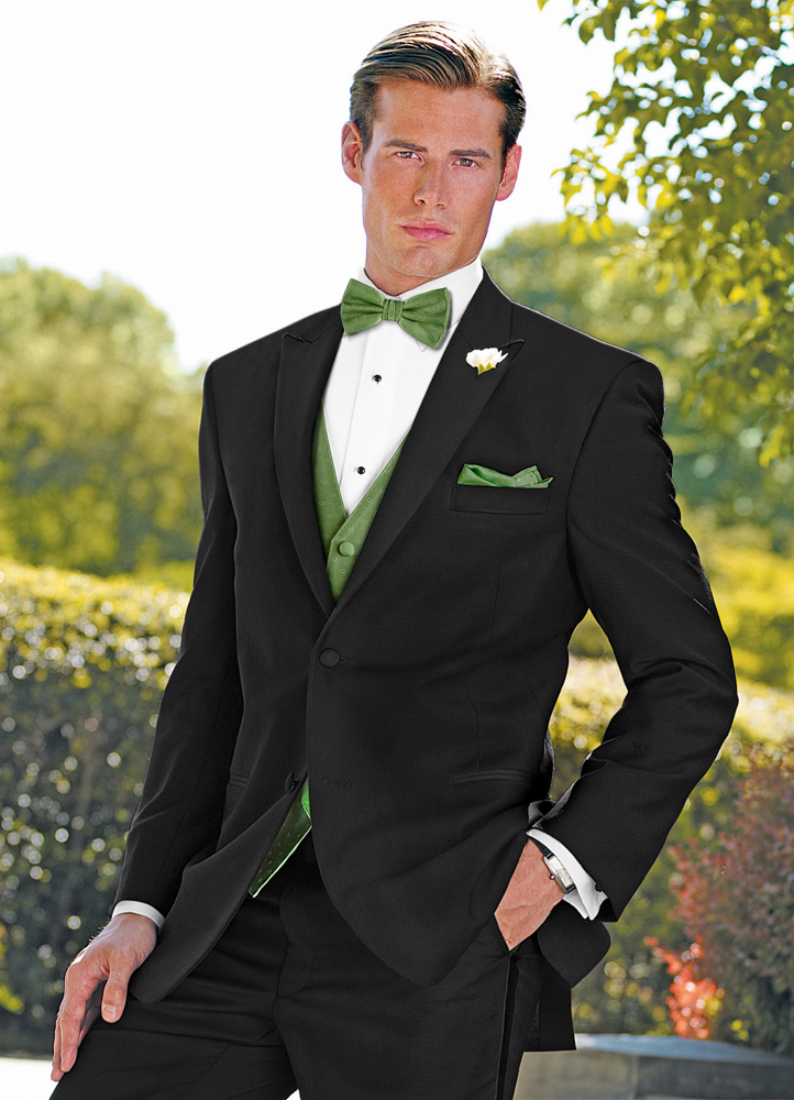Black 'Dream' Tuxedo by Lauren Ralph Lauren