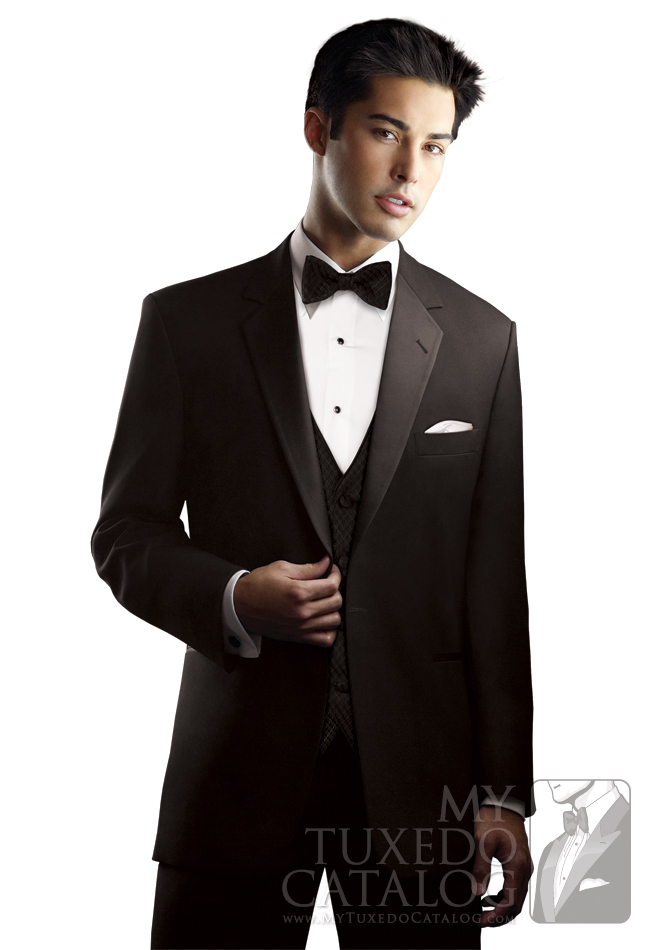 Black 'Chaplin I' Tuxedo by After Six: #6