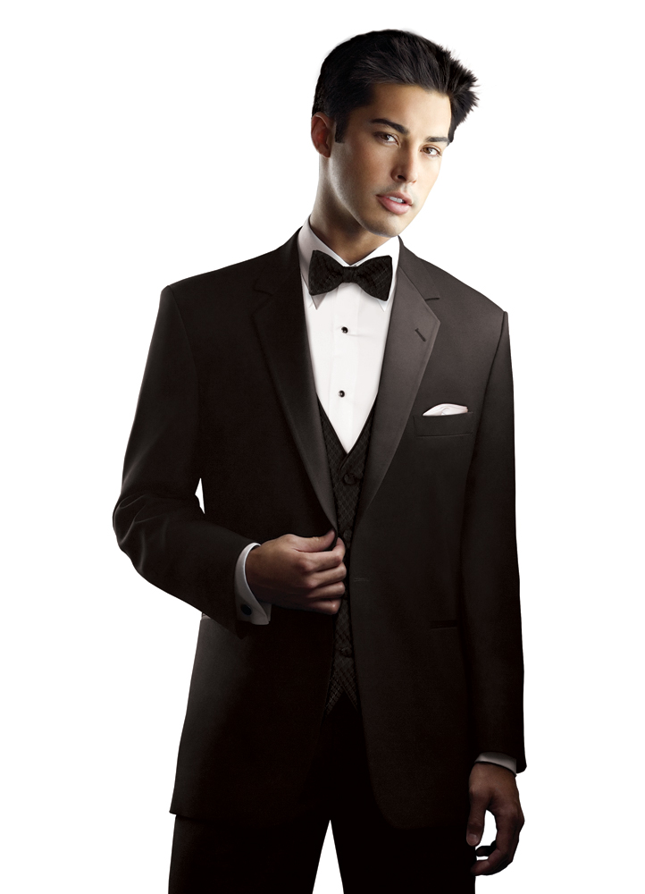 After Six Black 'Chaplin I' Tuxedo