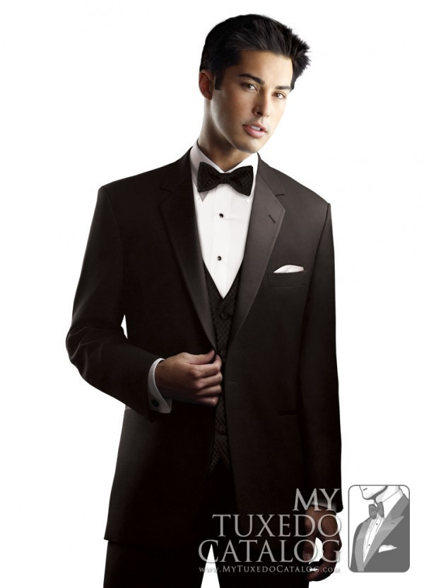 7.) After Six Black 'Chaplin I' Tuxedo