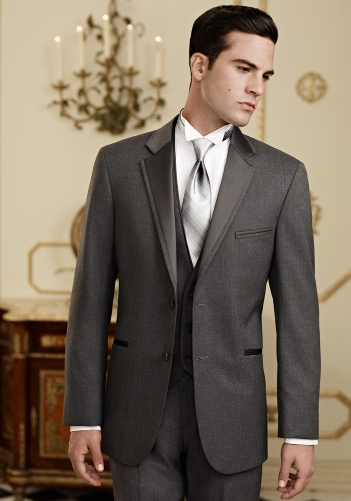 Steel Grey 'Twilight' Tuxedo