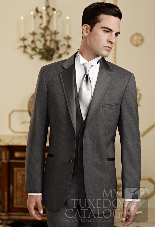 Steel Grey 'Twilight' Tuxedo by Jean Yves: #5