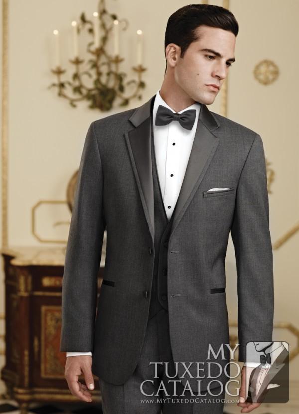 Steel Grey 'Twilight' Tuxedo by Jean Yves
