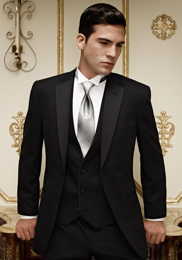 Black Stripe 'Ridge' Tuxedo