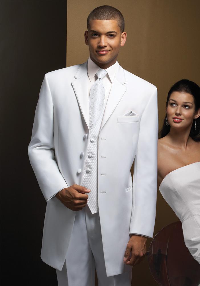 White 'Cool' Tuxedo
