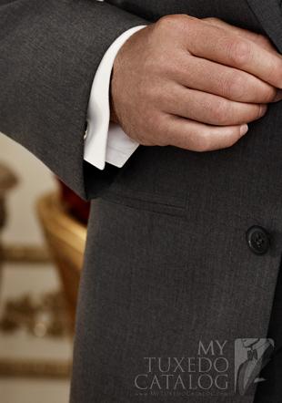 Jean Yves Steel Grey 'Twilight' Suit