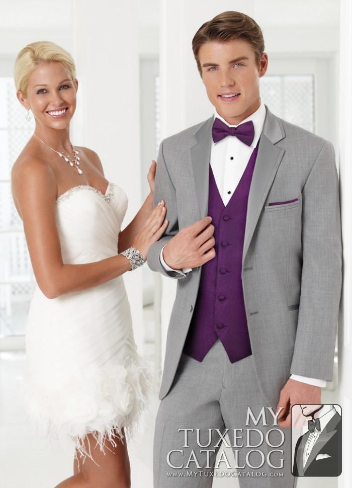 Heather Grey 'Twilight' Tuxedo   Tuxedos & Suits   MyTuxedoCatalog.com