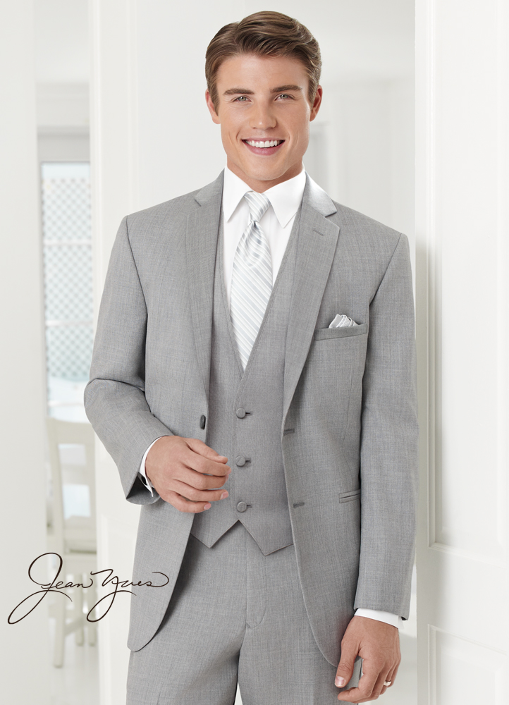 Heather Grey 'Twilight' Ceremonia Suit