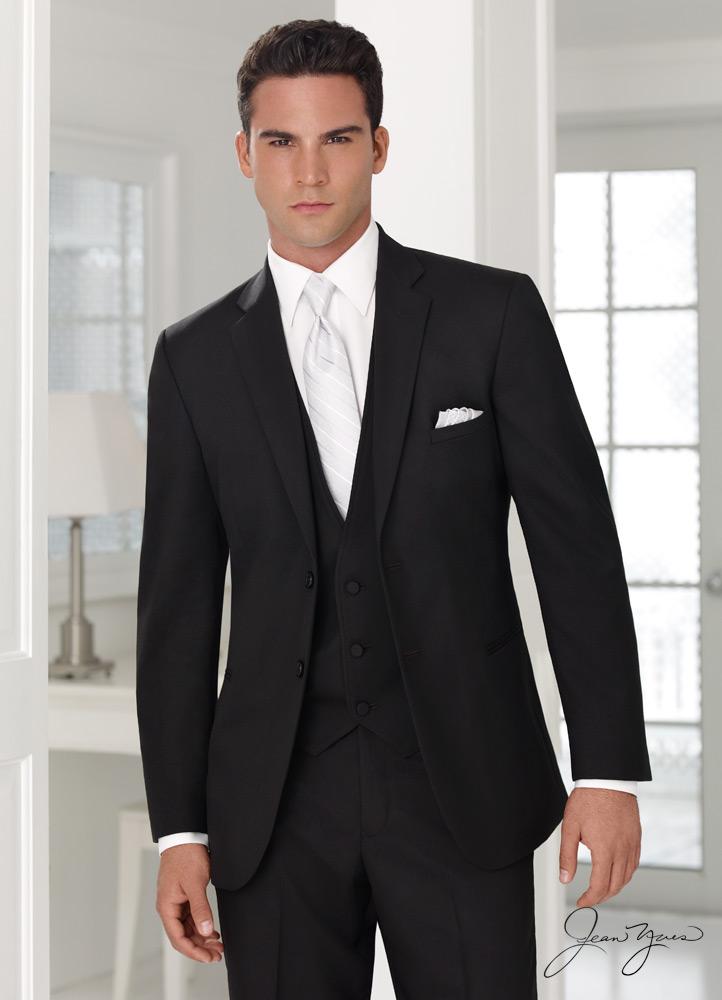 Black Groom Suit