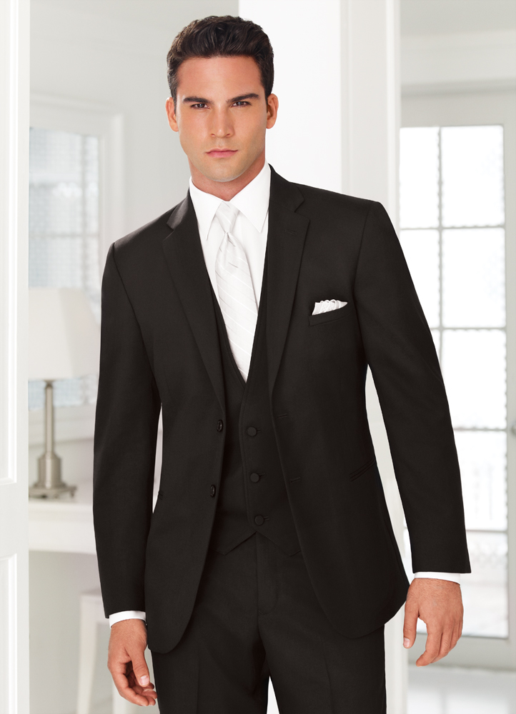 Black 'Ceremonia' Suit by Jean Yves