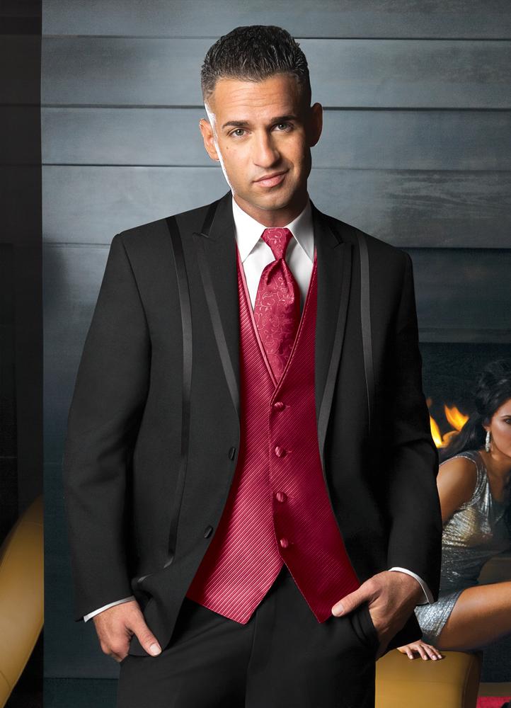 Black 'Avalon' Tuxedo