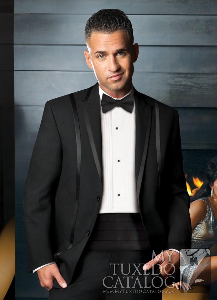 Black \'Avalon\' Tuxedo | Tuxedos & Suits | MyTuxedoCatalog.com