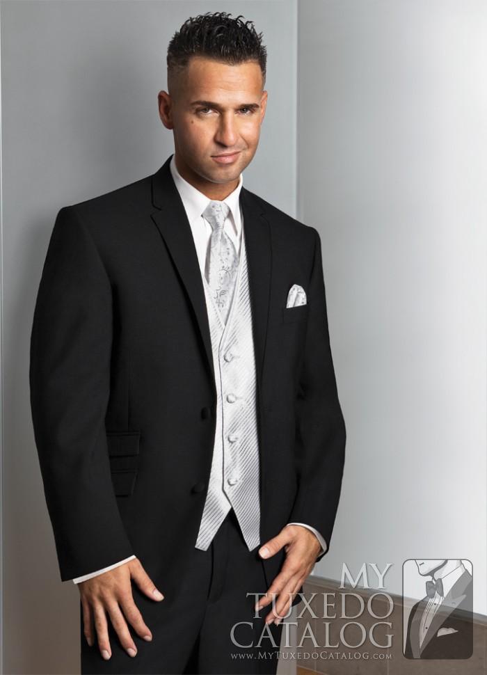 Black \'Asbury\' Suit | Tuxedos & Suits | MyTuxedoCatalog.com