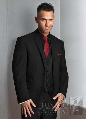 All Black Tuxedo Suit