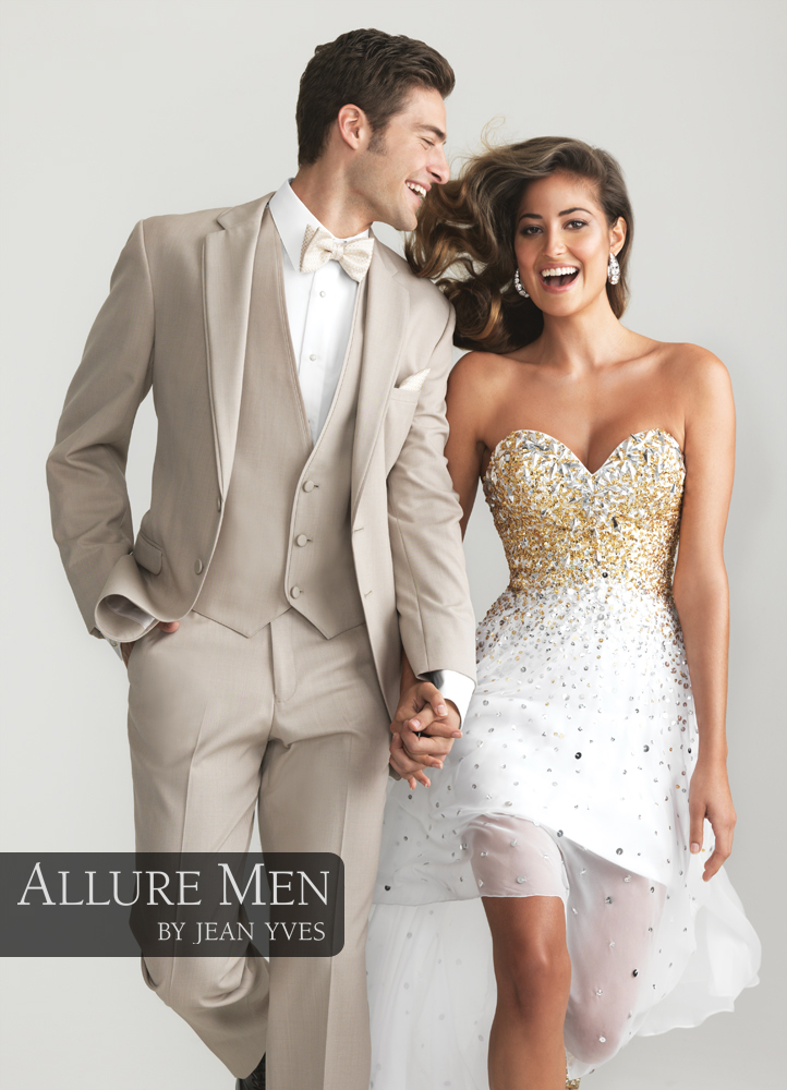 Tan 'Allure Men' Tuxedo by Jean Yves