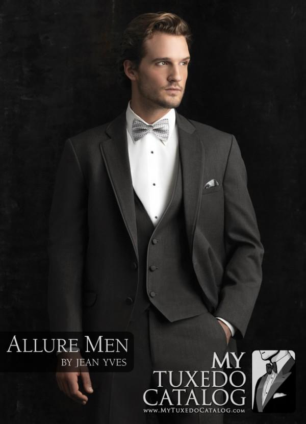 Steel Grey 'Bartlett' Tuxedo by Allure Men