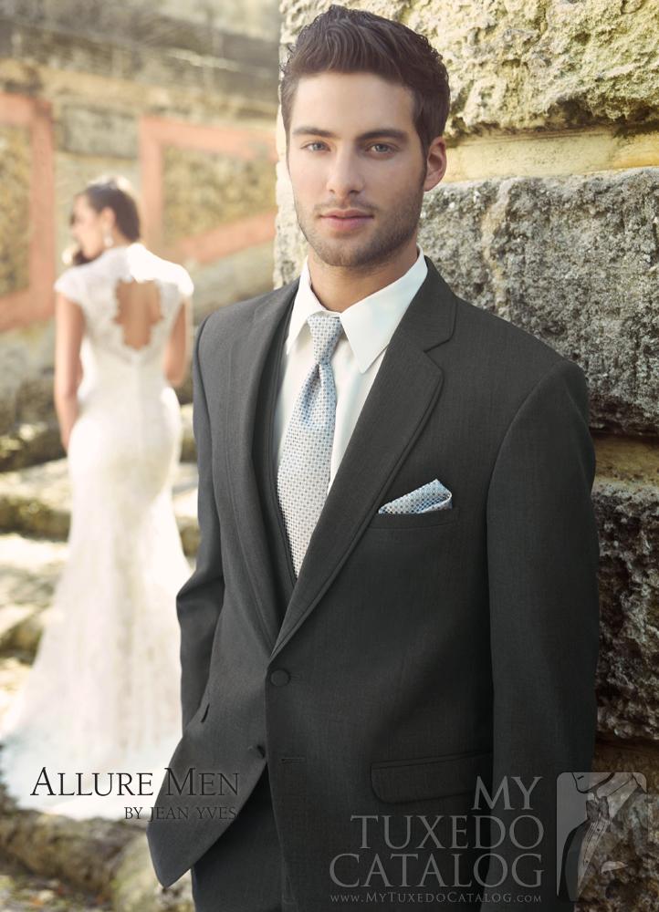 Steel Grey 'Allure Men' Tuxedo by Jean Yves