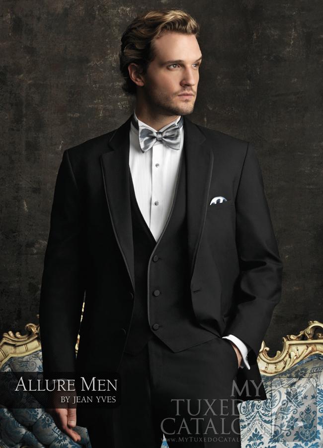 Black 'Allure Men' Tuxedo by Jean Yves
