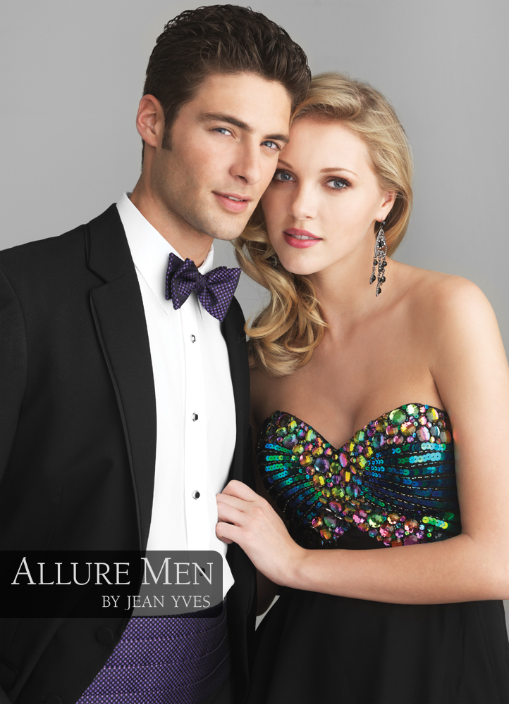 Black 'Allure Men' Tuxedo by Jean Yves