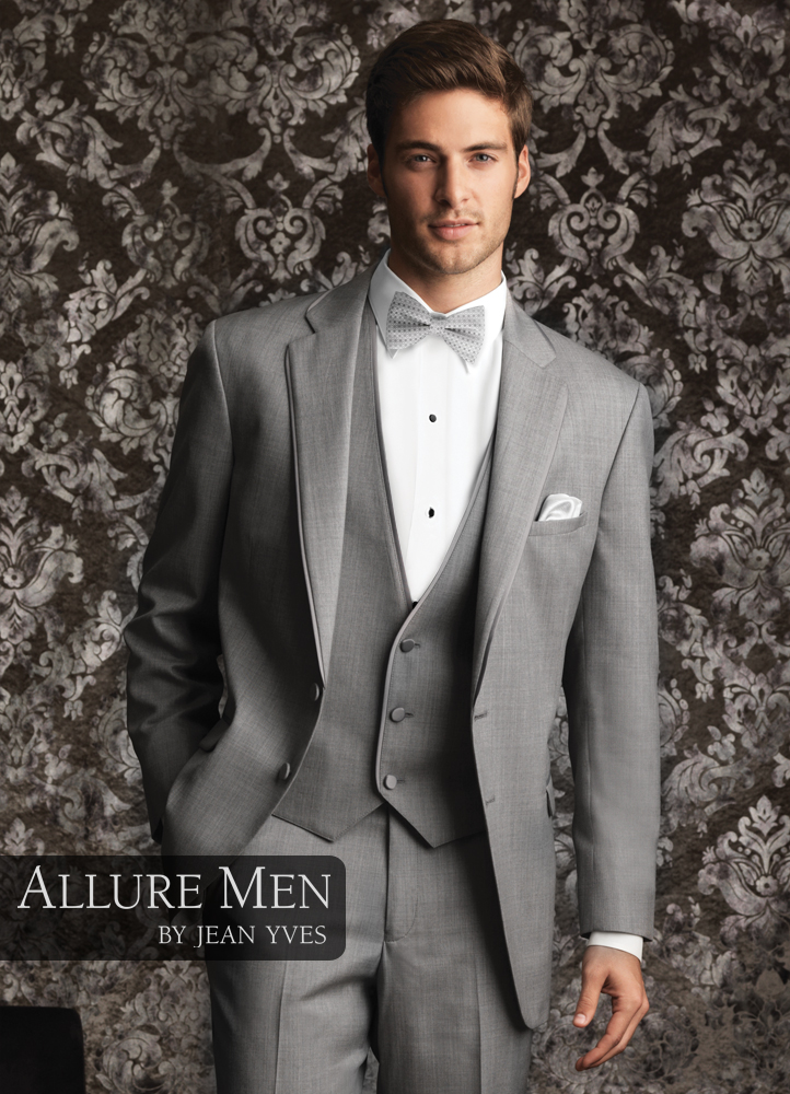 Heather Grey 'Allure Men' Tuxedo by Jean Yves