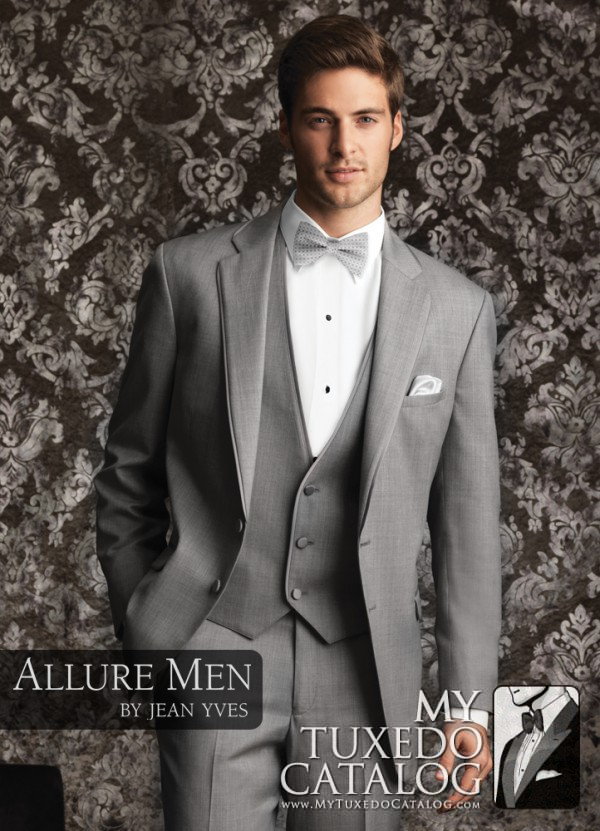 Heather Grey 'Bartlett' Tuxedo by Allure Men