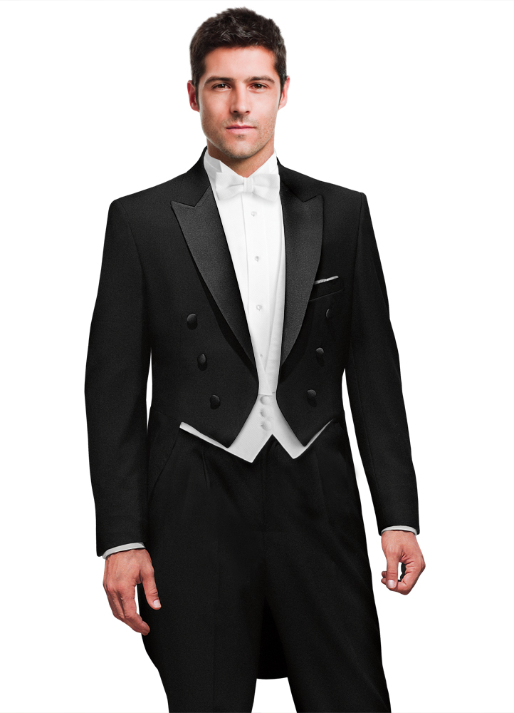 Black Peak Full Dress Tailcoat