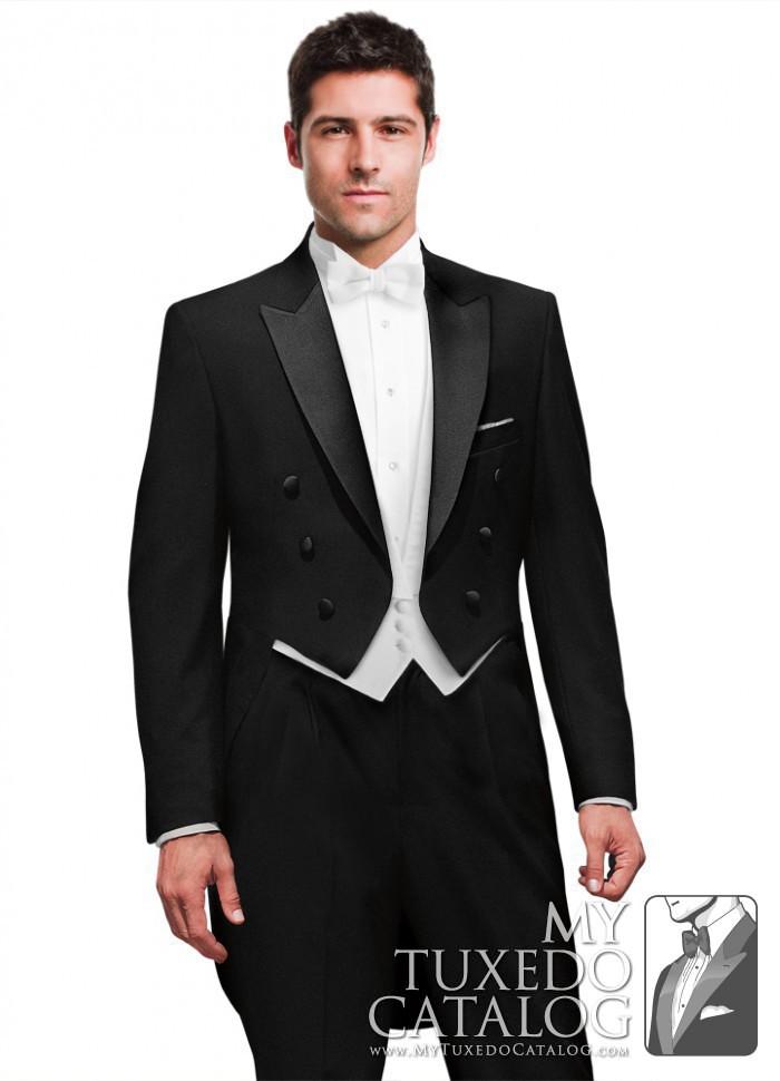 black peak full dress tailcoat tuxedos amp suits