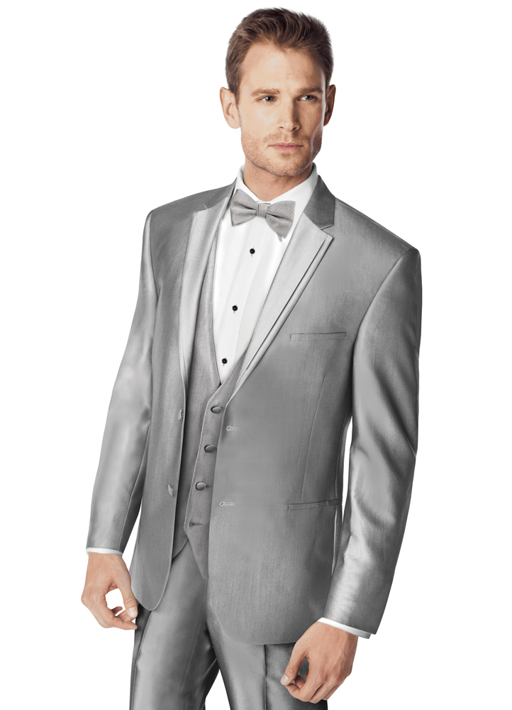 Silver 'Swagger' Tuxedo by FLOW