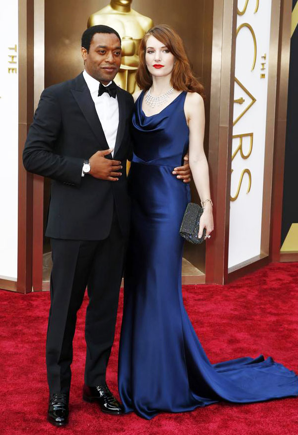 Chiwetel Ejiofor in Classic Black Tie at the 2014 Oscars!