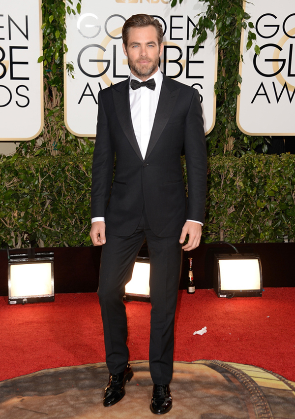 Chris Pine: Our Pick for Best Dressed Man at the 2014 Golden Globes!