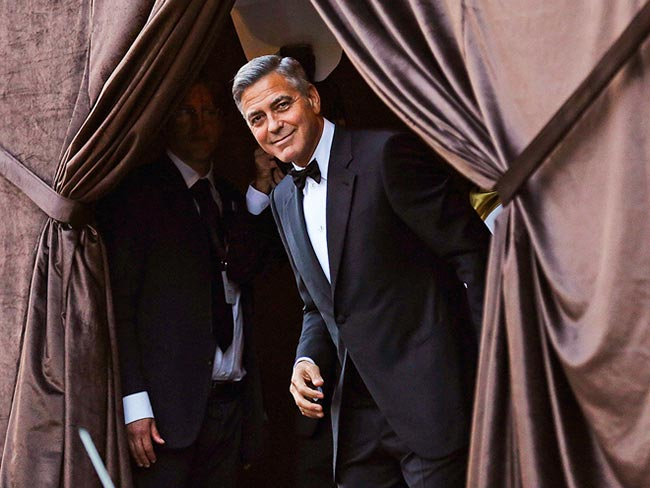 Trending Tuxedos: George Clooney Married in an Armani Tuxedo!