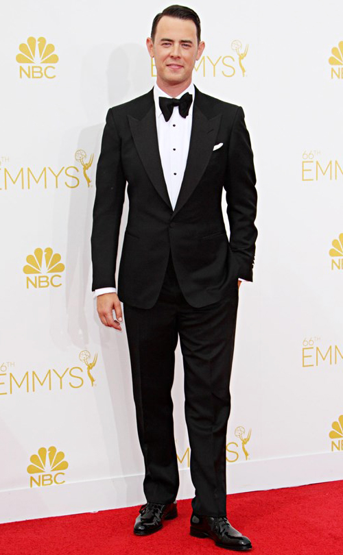 Colin Hanks in Black Tie at the 2014 Emmy Awards