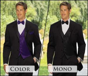 Color Accessories or Monochrome Pallet: Should I match the women?