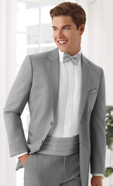 Heather Grey Twilight Tuxedo