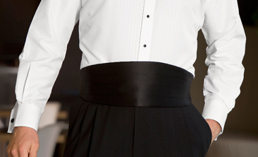 The Proper Way to Wear a Cummerbund