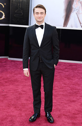 Daniel Radcliffe at the 2013 Oscars - Winner: Best Waist Covering