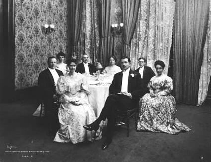 Delmonico's Evening Attire, Prior to Tuxedo