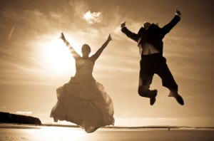Happy Jump: Destination Wedding