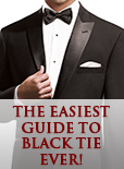 The Easiest Guide To Holiday Black Tie Ever!