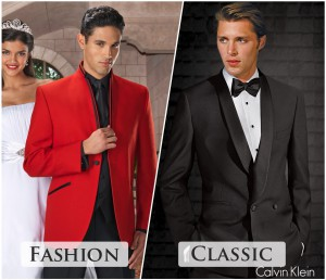 Current Fashions vs. Classic Style: What are my tuxedo options?